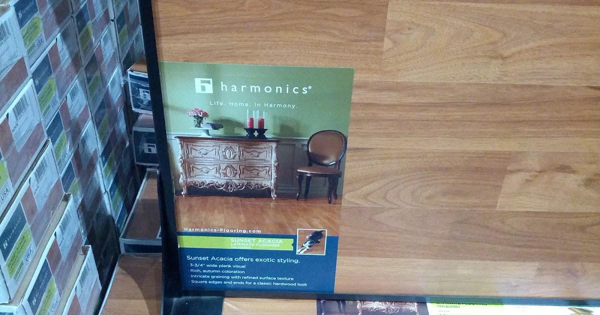 Harmonics Unilin Sunset Acacia Laminate Flooring Costco Weekender