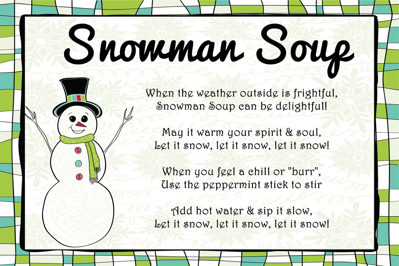 File Name : Snowman%20Soup%20Poem%20Card.jpg Resolution : 1600 x 1067 ...