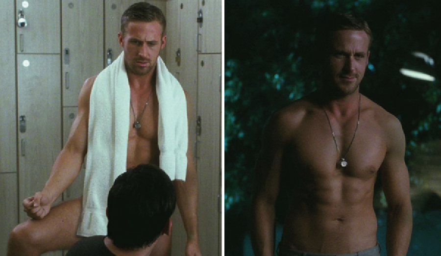 ryan gosling naked