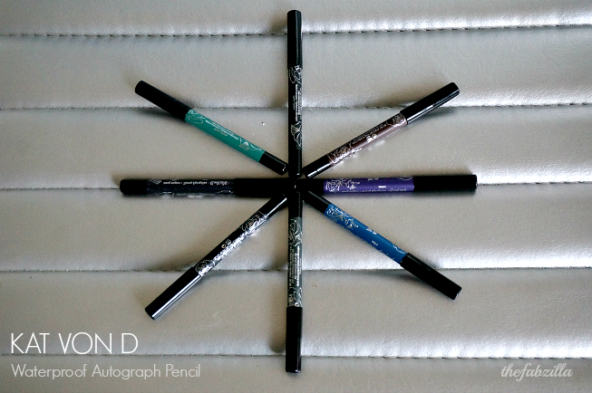 Kat Von D Waterproof Autograph Pencil, Review, Swatch, Photos