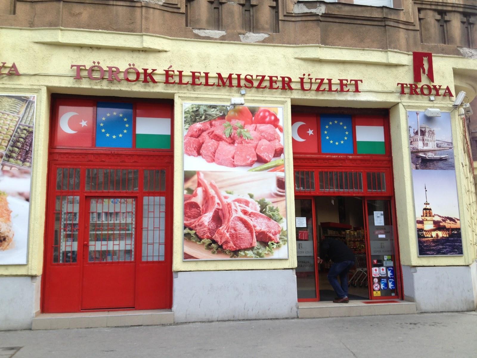 TROYA - a legjobb török élelmiszer üzlet Budapesten ~ Baklavaria Café