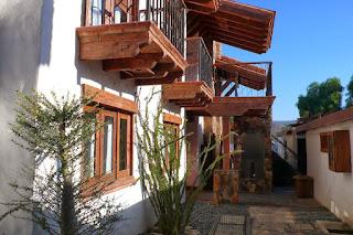 Outside of Hotel Baja Cactus