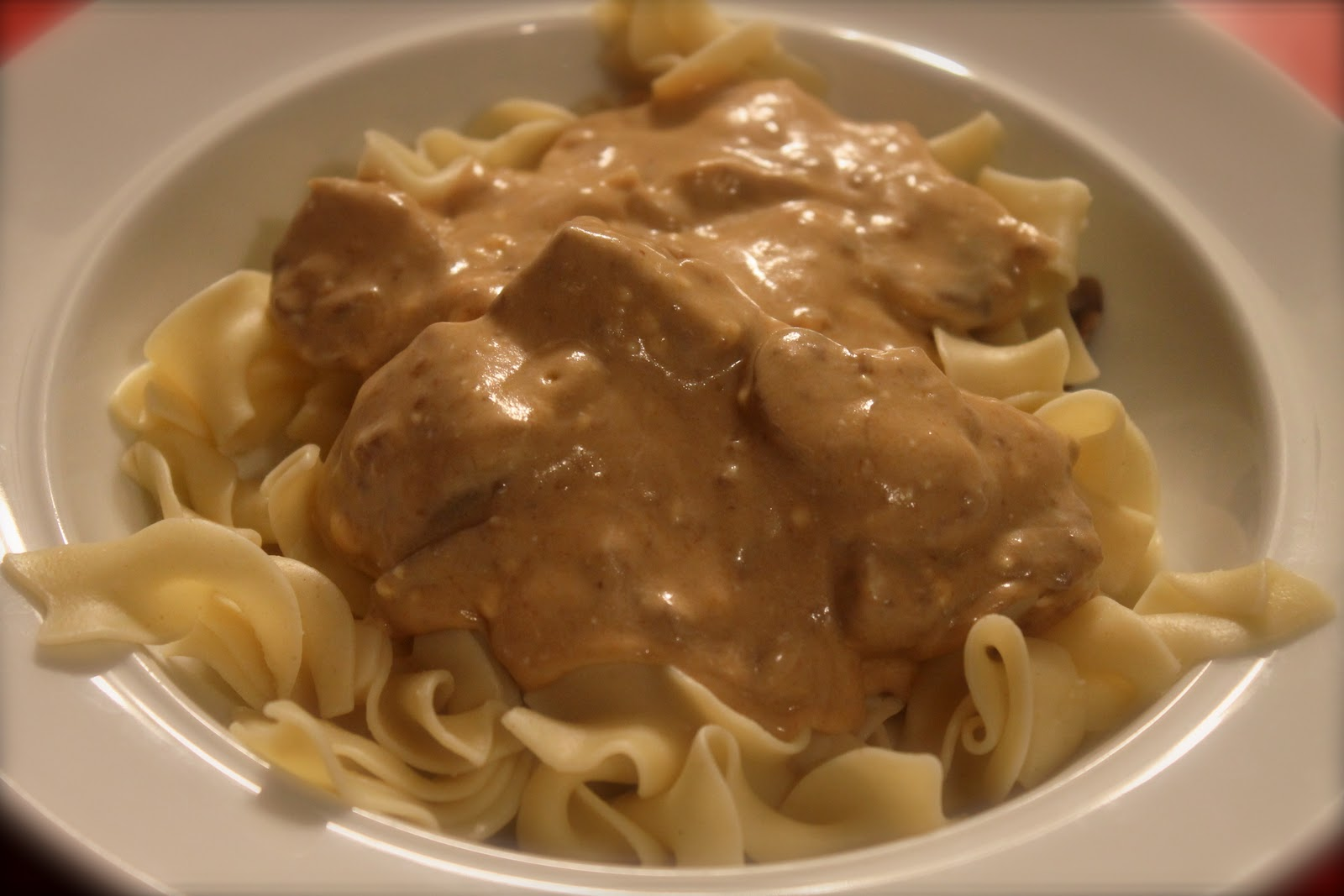WHAT'S FOR DINNER: Slow Cooker Beef Stroganoff