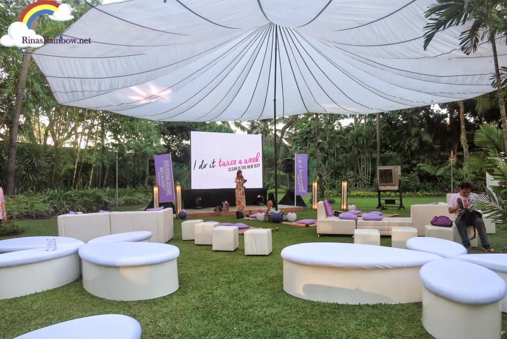 Betadine event garden setting