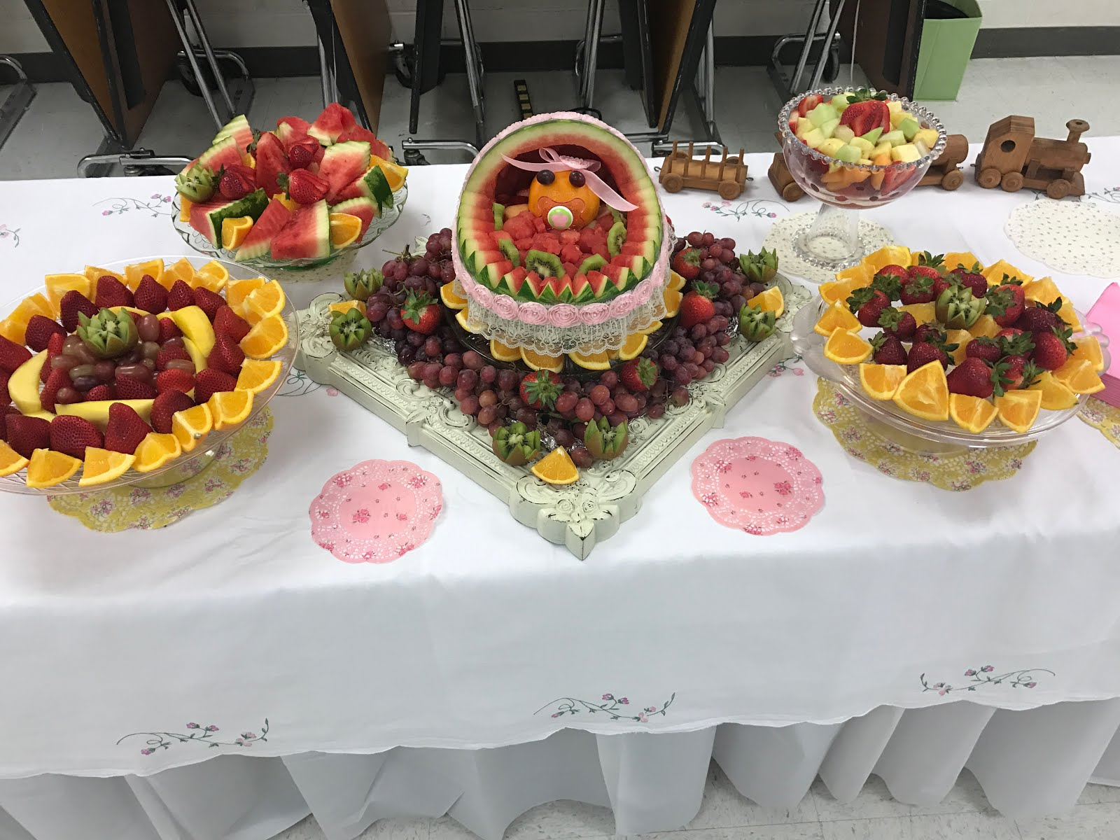 Fruit Display for Baby Shower