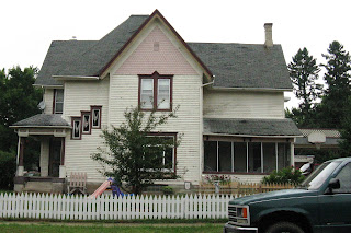 Home before repairs