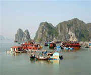 Ha Long Bay Floating Houses