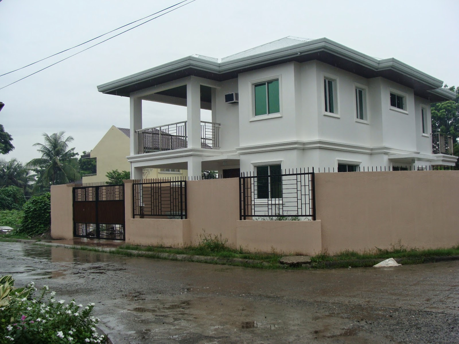 House plans and design house design two story philippines for Simple house design with floor plan in the philippines