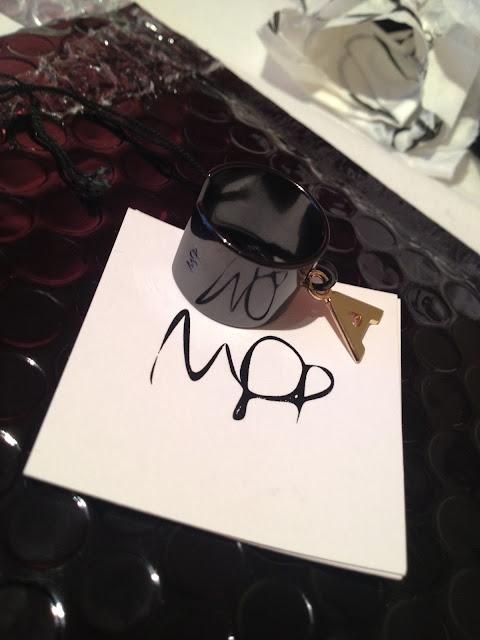 Maria Francesa Pepe Initial Ring   Jewellery Designer  Get Up Get Dressed   London