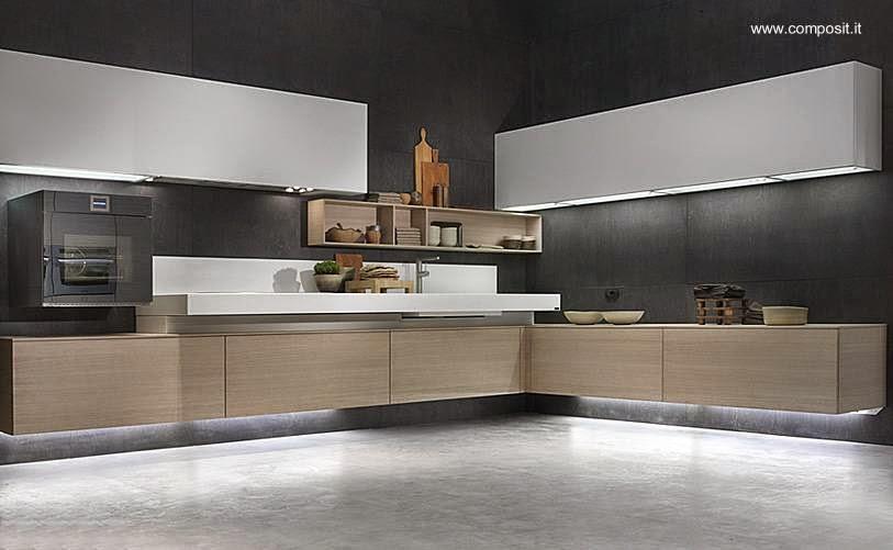 Arquitectura de casas 14 fotos de cocinas montadas a la for Muebles de cocina italianos