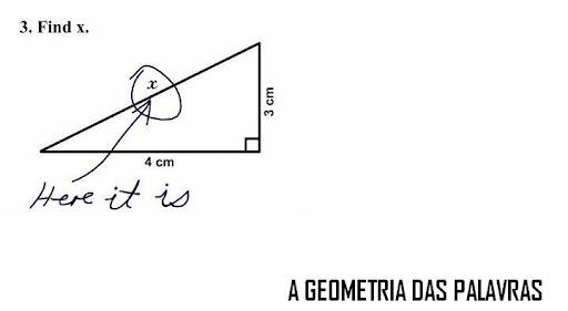 A geometria das palavras