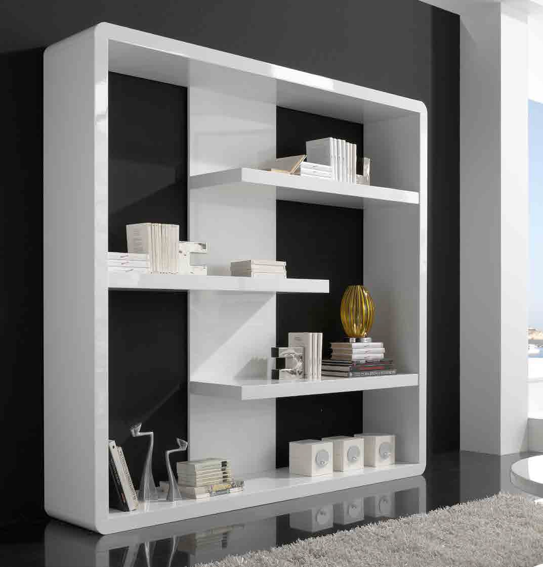 Promociones muebles xikara - Estanteria blanca lacada ...