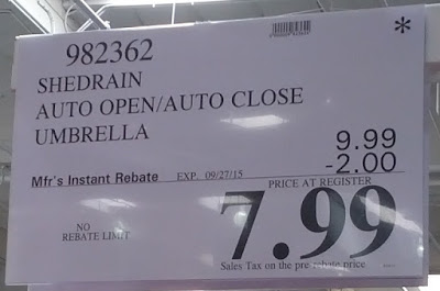 Deal for the ShedRain The Ultimate Umbrella with Auto Open Auto Close at Costco