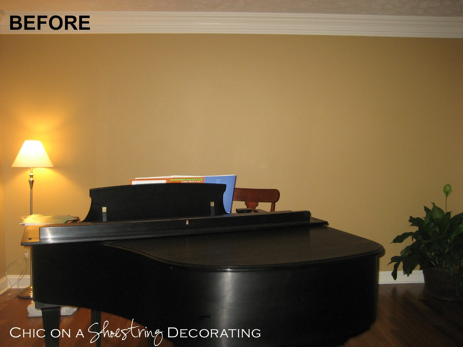 Grand Piano Living Room