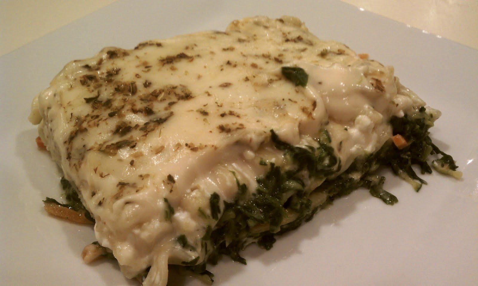 White Vegetable Lasagna - Emily Bites