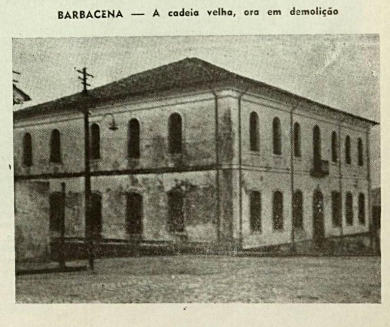 Cadeia Velha de Barbacena MG