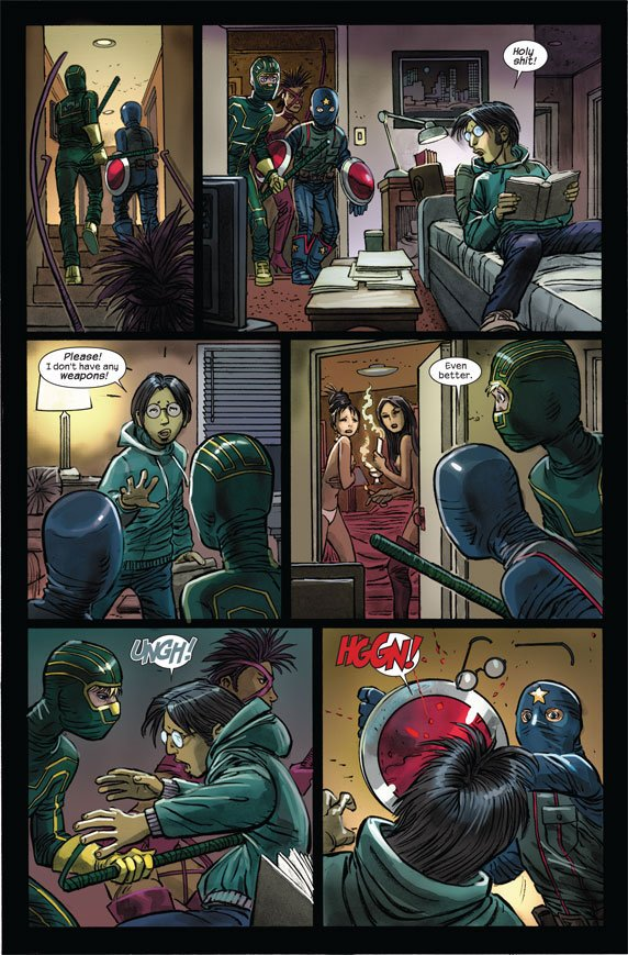 Kick-Ass 2 2010 - 2012 Comic Books Comics Marvelcom