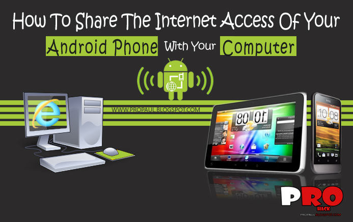 How To Use Your Android Phone Or Tablet As Modem| How To ...
