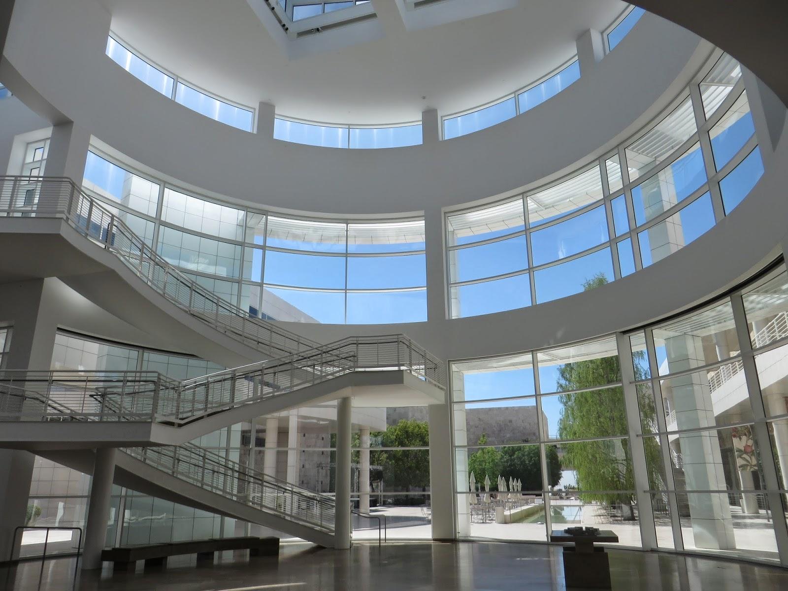 Entrevoir getty center architecte richard meier for Richard meier architetto