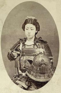 Mujer samurai. Lacasamundo.com