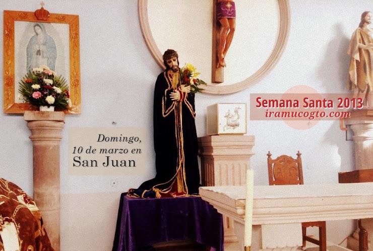 Rumbo a la Semana Santa 2013: El Señor de las tres Caídas en San Juan