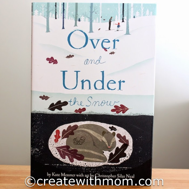 over and under children's book