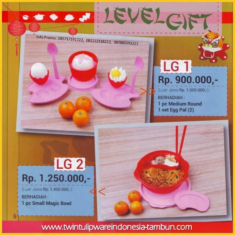 Level Gift Tulipware | Januari - Februari 2014