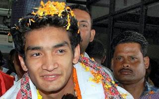 Shiva Thapa Indian Gorkha Boxer