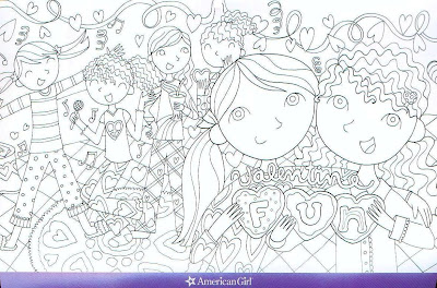 american girl doll coloring pages print julie - American Girl Coloring Pages Julie