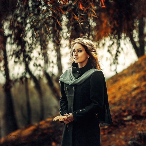 Прекрасные женские портреты фотографа Сергея Пилтника