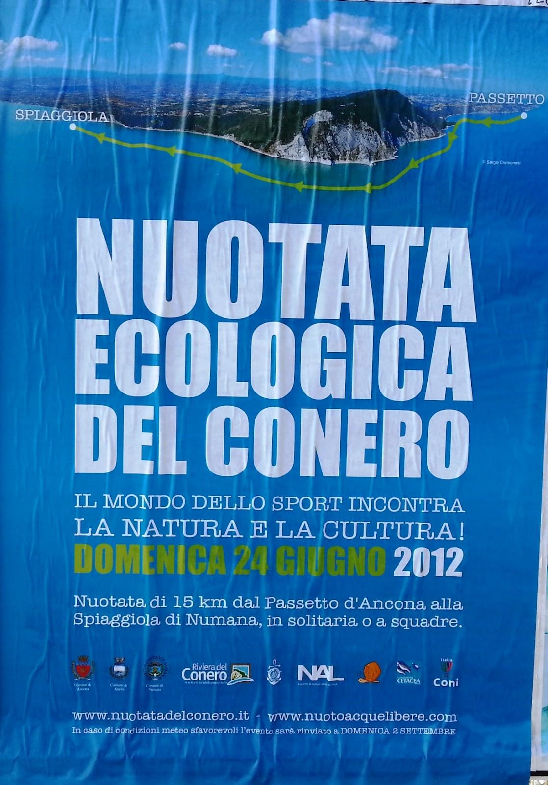 Nuotata ecologica del Conero 2012