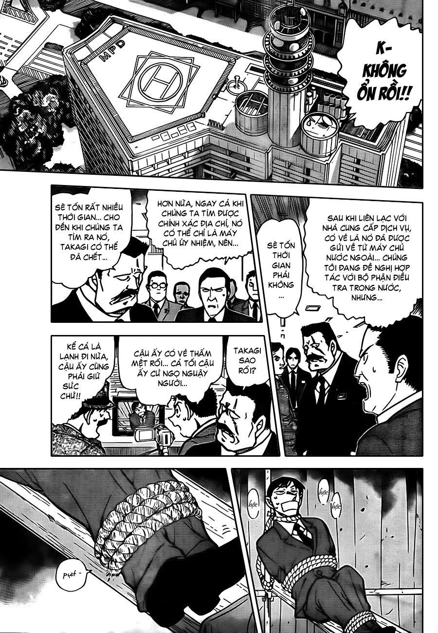 Thám Tử Lừng Danh Conan - Chapter 806 - Pic 10