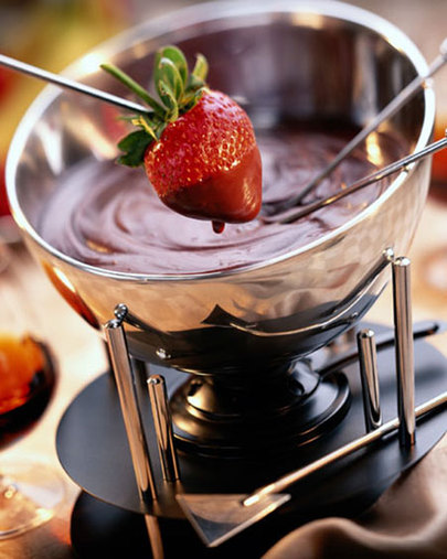 ModeliciousBites : *Chocolate Fondue for Valentine's Day*