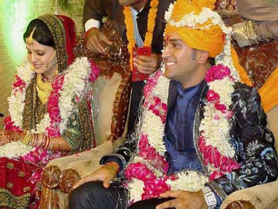 Ms Dhoni Daughter Sakshi singh rawat Marriage