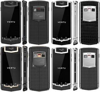 Ponsel Android Vertu Seharga Rp. 97 Juta
