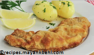 breaded-veal-escalopes recipe