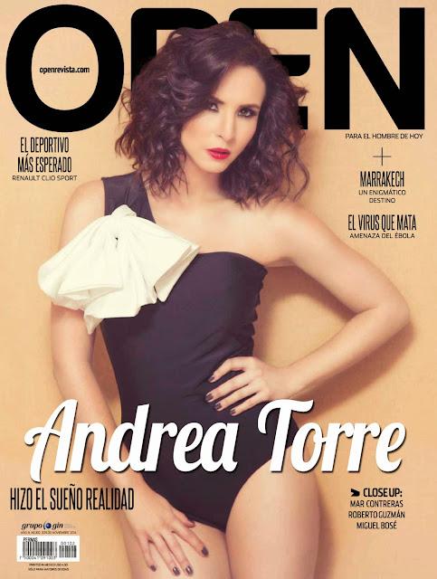 FOTOS: Andrea Torre Revista Open Mexico Noviembre 2014