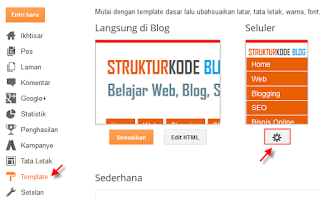 Cara menampilkan template blog responsive agar mobile friendly
