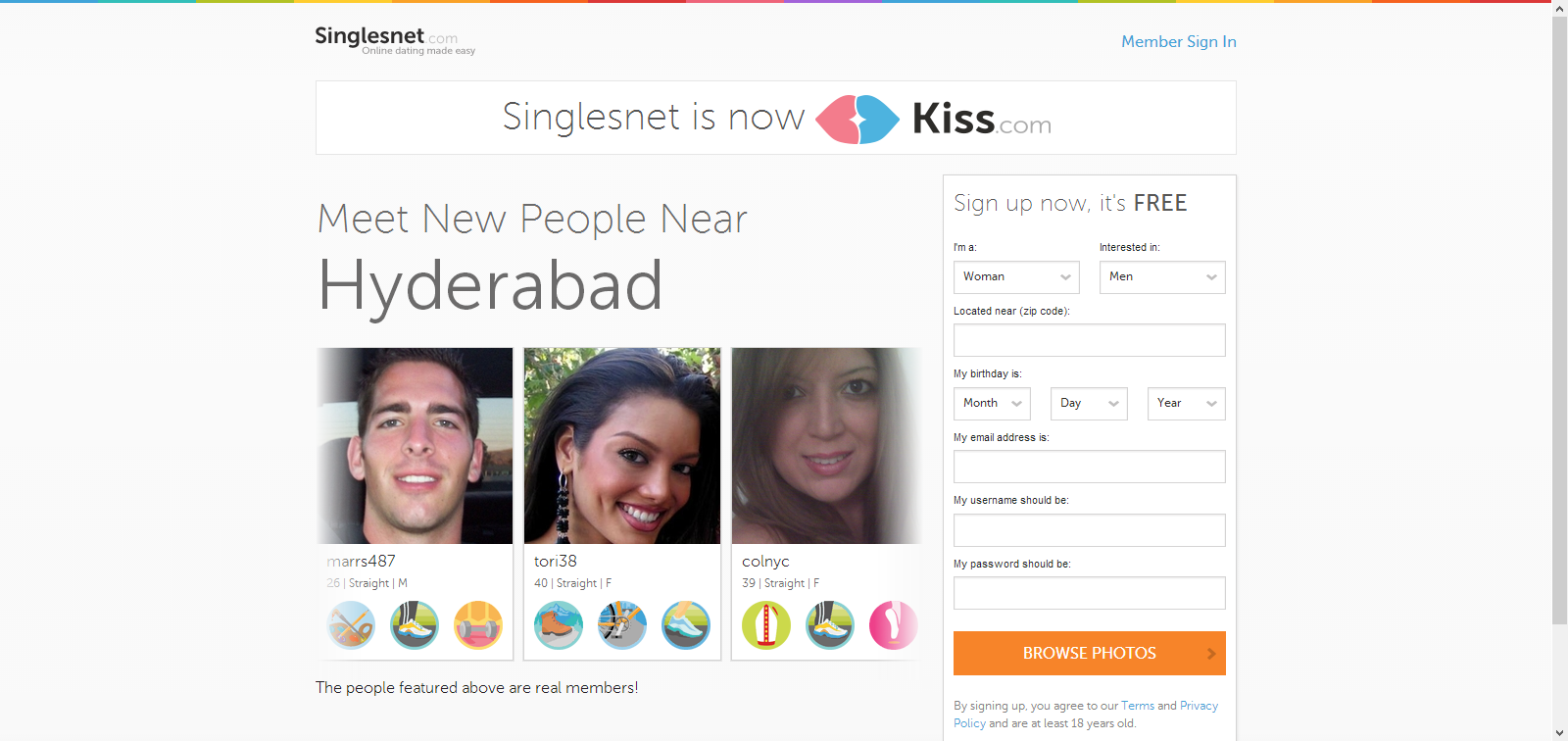 singlesnet free trial dating Singlesnet has a great free trial offer for new members 9 friendfinder: looking for friends, fun or even romance, you can join for free and take advantage of all that friendfinder has to offer.