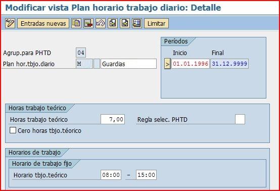 Horarios de trabajo de personal blog de sap for Horario oficina de empleo
