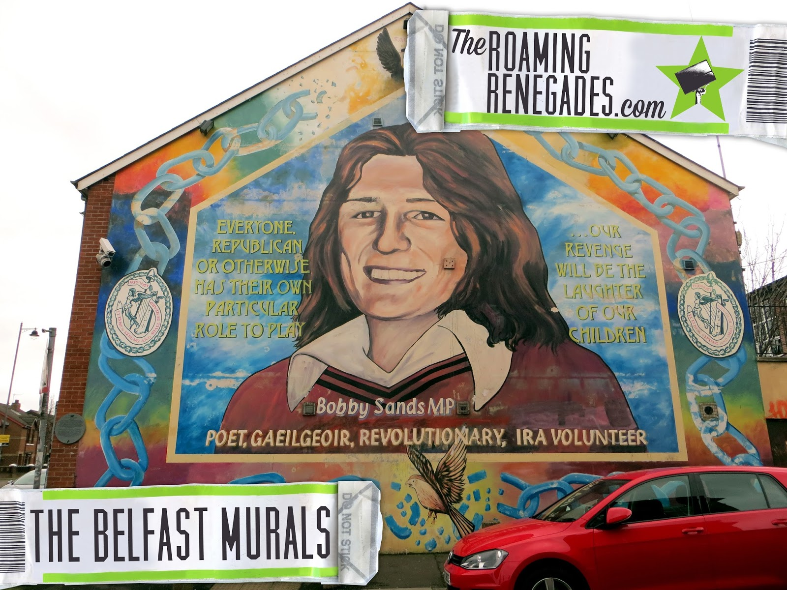 Discovering the belfast murals their turbulent history for Bobby sands mural