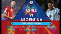 Así han llegado Argentina y Chile a la final