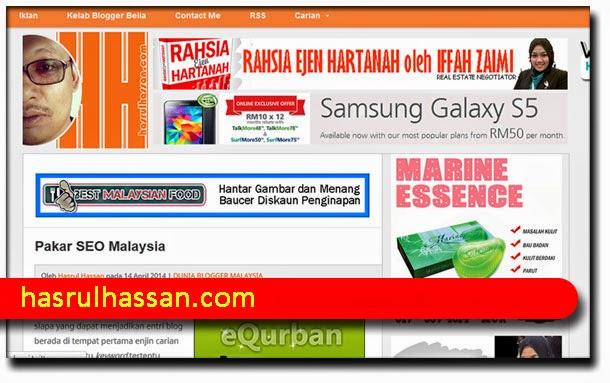 Pakar SEO Malaysia : Saudara Hasrul Hassan