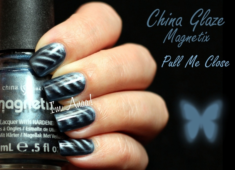 China Glaze Magnetix - Pull Me Close (+ matte version)