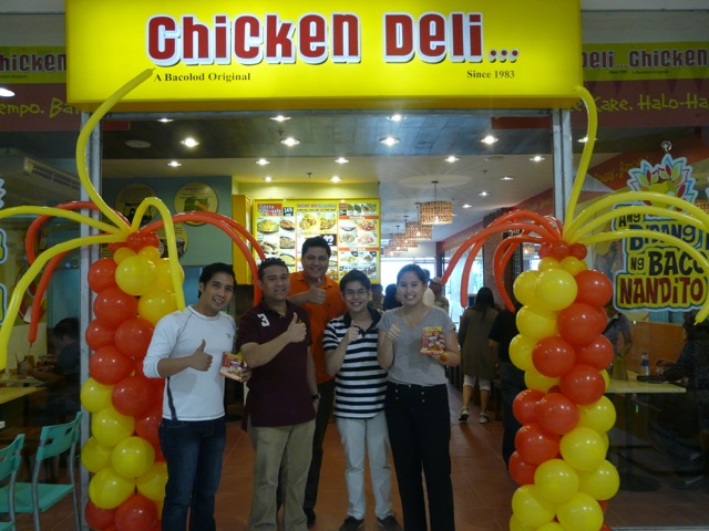 CHICKEN DELI is now in SM Santa Rosa