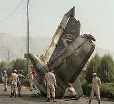 40 Penumpang Maut Pesawat Terhempas di Iran