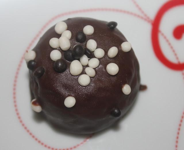 Cake pops de frambuesa