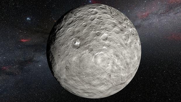 En Ceres, condiciones para la vida.