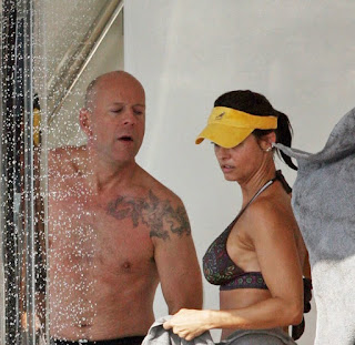 Bruce Willis Tattoo Ideas - Celebrity Bruce Willis Tattoo Design Photo Gallery