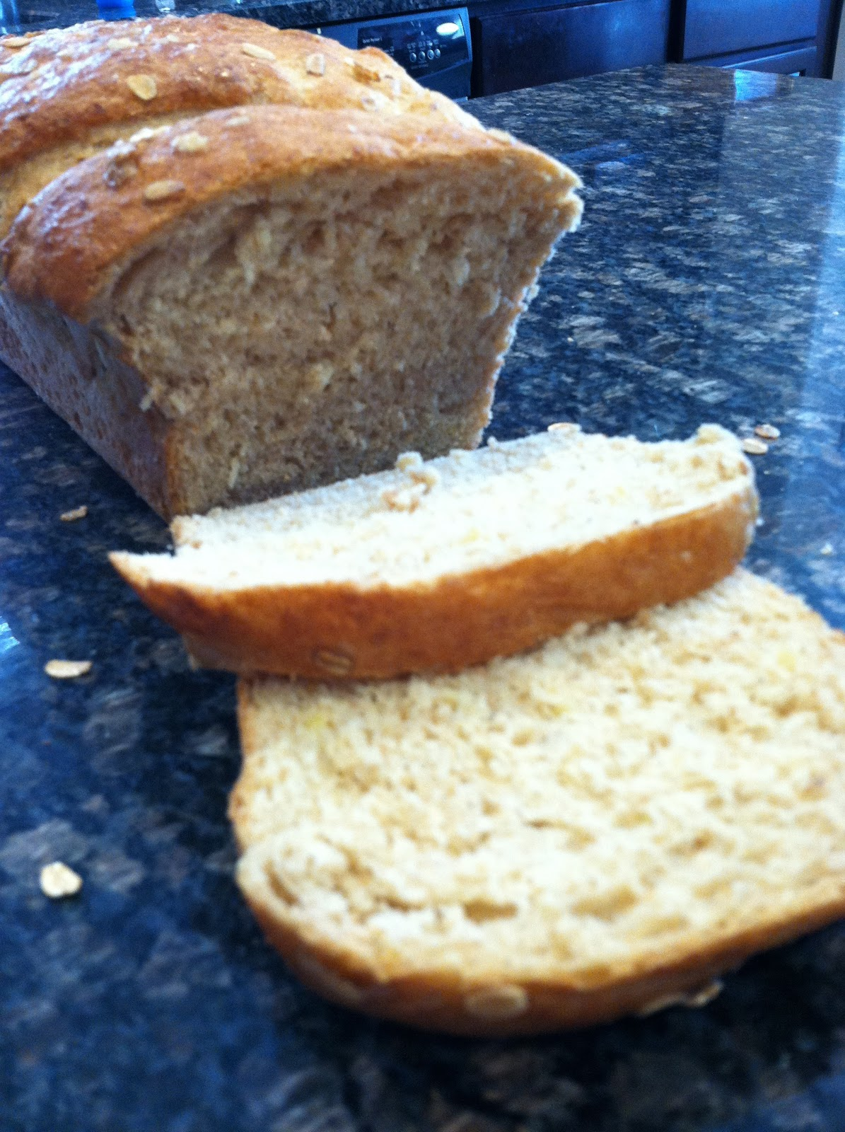 how to make sprouted grain bread at home